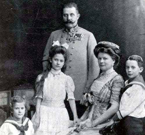 François-Ferdinand en famille