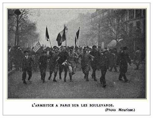 L'armistice à Paris