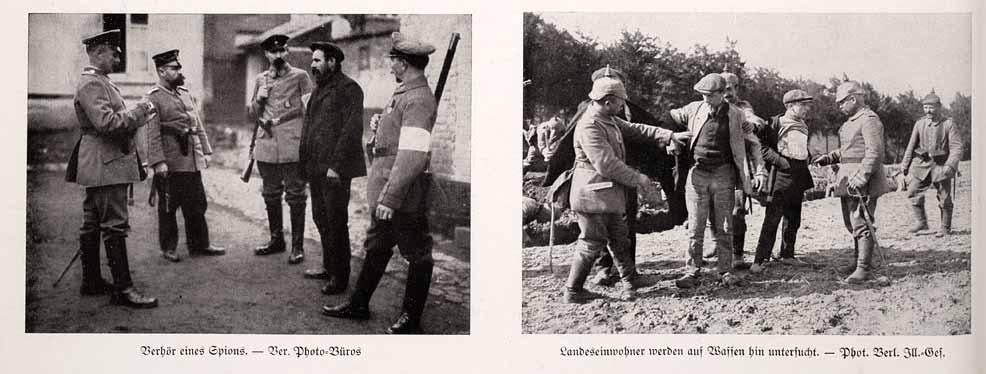 Civils belges en 1914