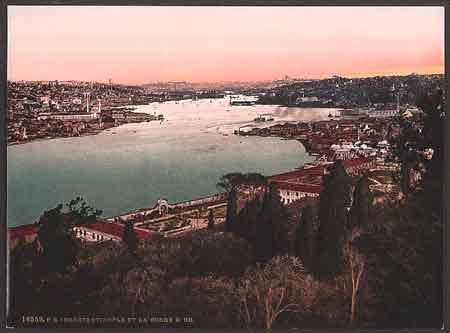 Constantinople en 1900