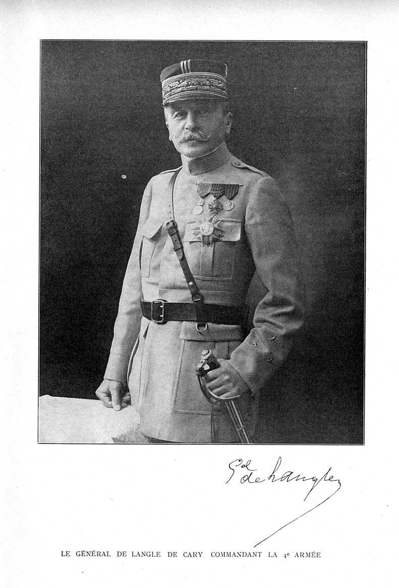 de Langle de Cary en 1914