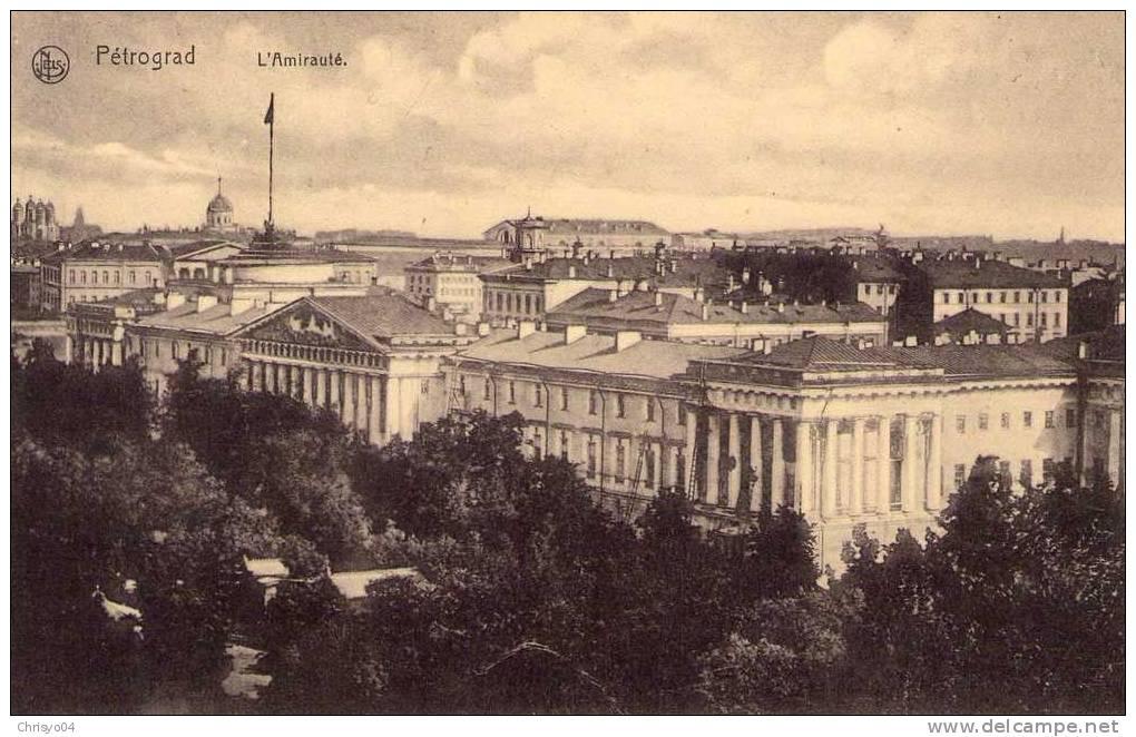 L'Amirauté à Petrograd