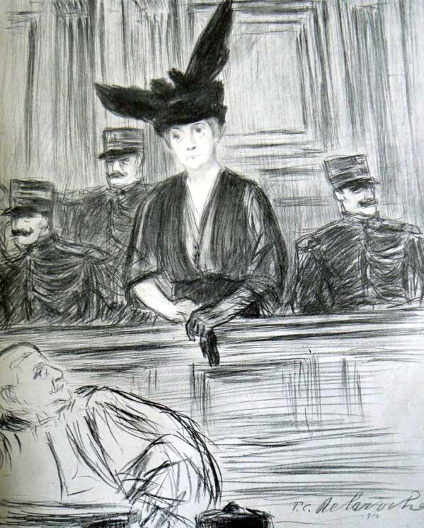Procès de Mme Caillaux