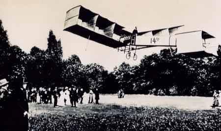 Avion 14 bis de Santos-Dumont