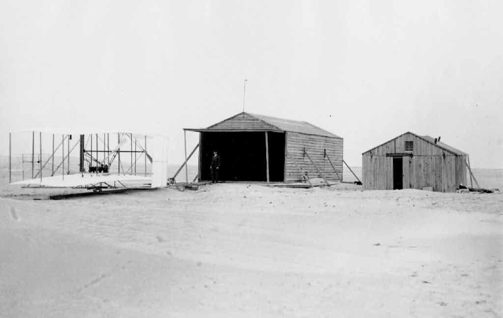 Wright Camp en 1903