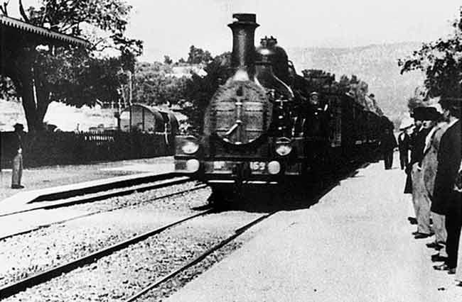 Arrivée d'un Train à La Ciotat