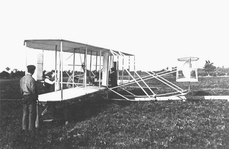 Avion Wright en France