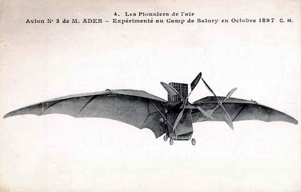 Avion III de Ader