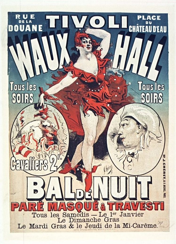 Bal de Nuit au Tivoli VauxHall