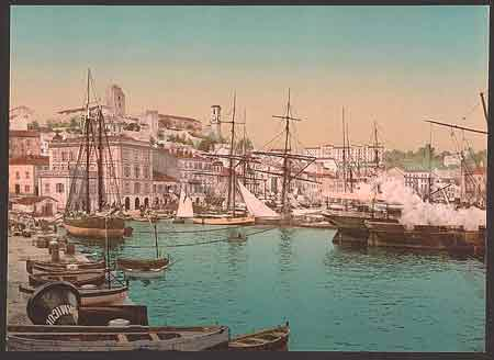 Cannes vers 1900