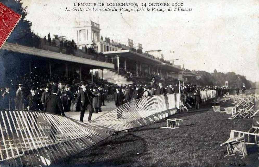 L'émeute de Longchamps