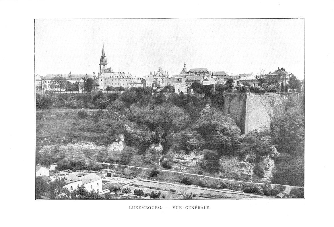 Vue générale de Luxembourg