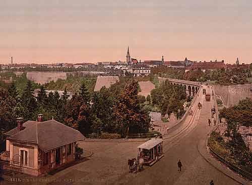 Luxembourg en 1900