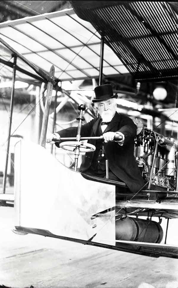 Hiarm Maxim en 1910