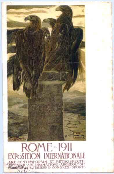 Expo de Rome en 1911