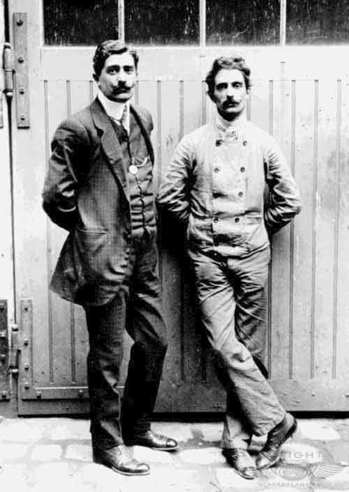 Frères Voisin en 1907